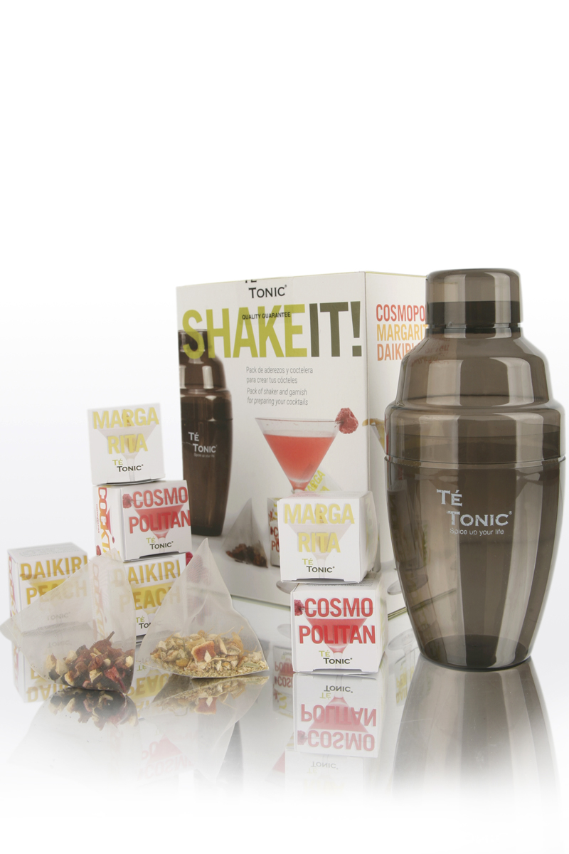 Pack Shaker and 6 infusers 3 aromas
