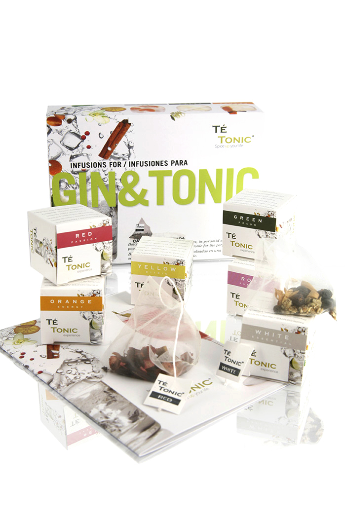 Minipack Gin&Tonic 24 infusions and 6 flavours